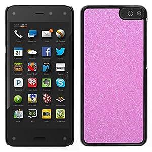 EJOY---Cubierta de la caja de protección para la piel dura ** Amazon Fire Phone ** --diamante rosa de plástico espumoso