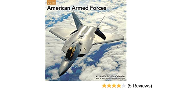 2018 American Armed Forces Wall Calendar (Mead): Mead