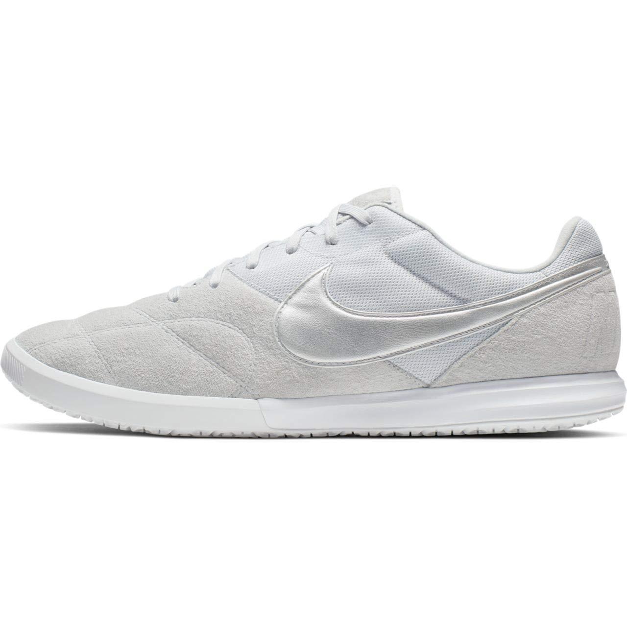 MultiCouleure (Pure Platinum Metallic argent blanc 000) Nike The Premier II Sala, Chaussures de Futsal Mixte Adulte 44 EU