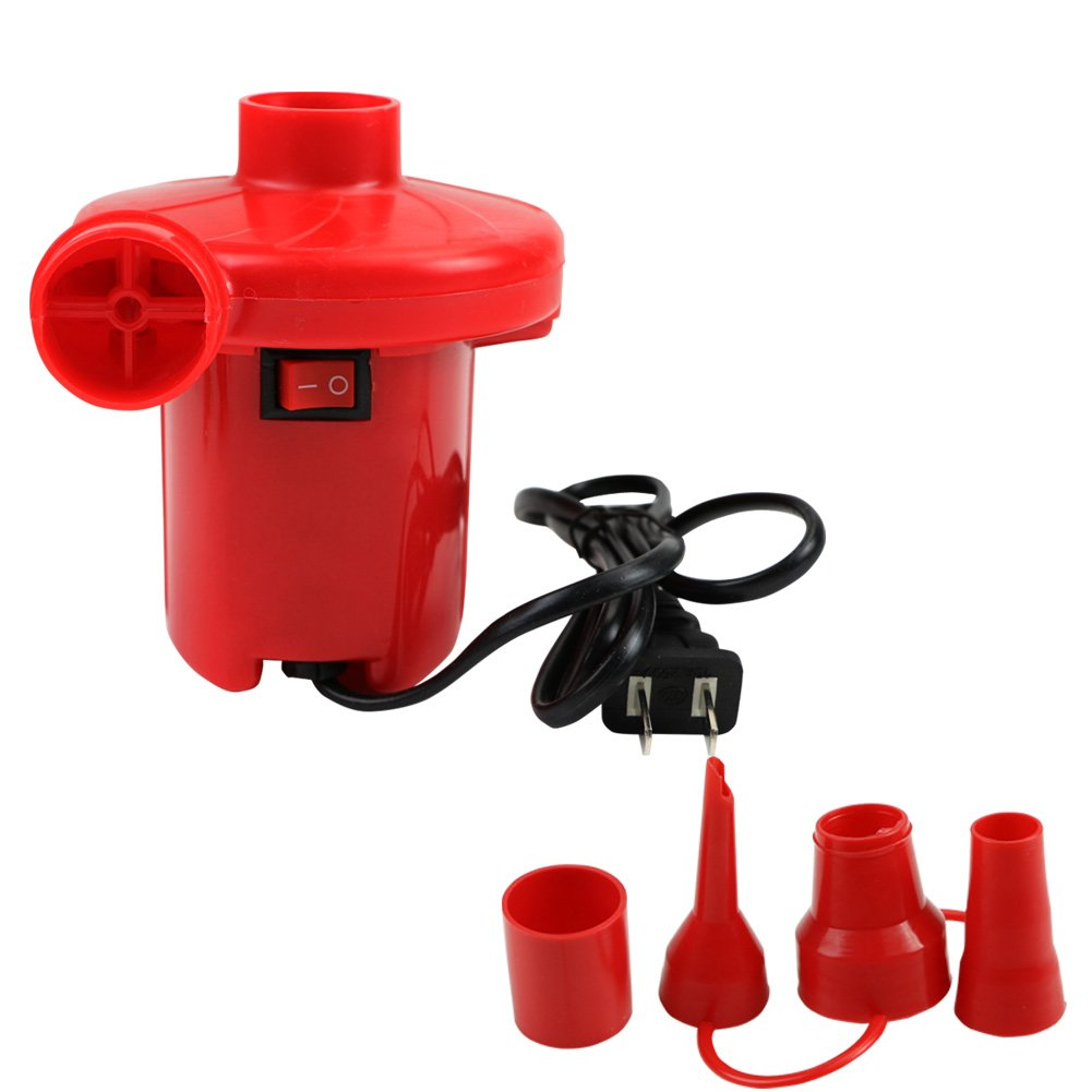 LING'S SHOP 220V AC Electric Air Pump Inflate Deflate For Toys Air Bed Compression Bag Mattress