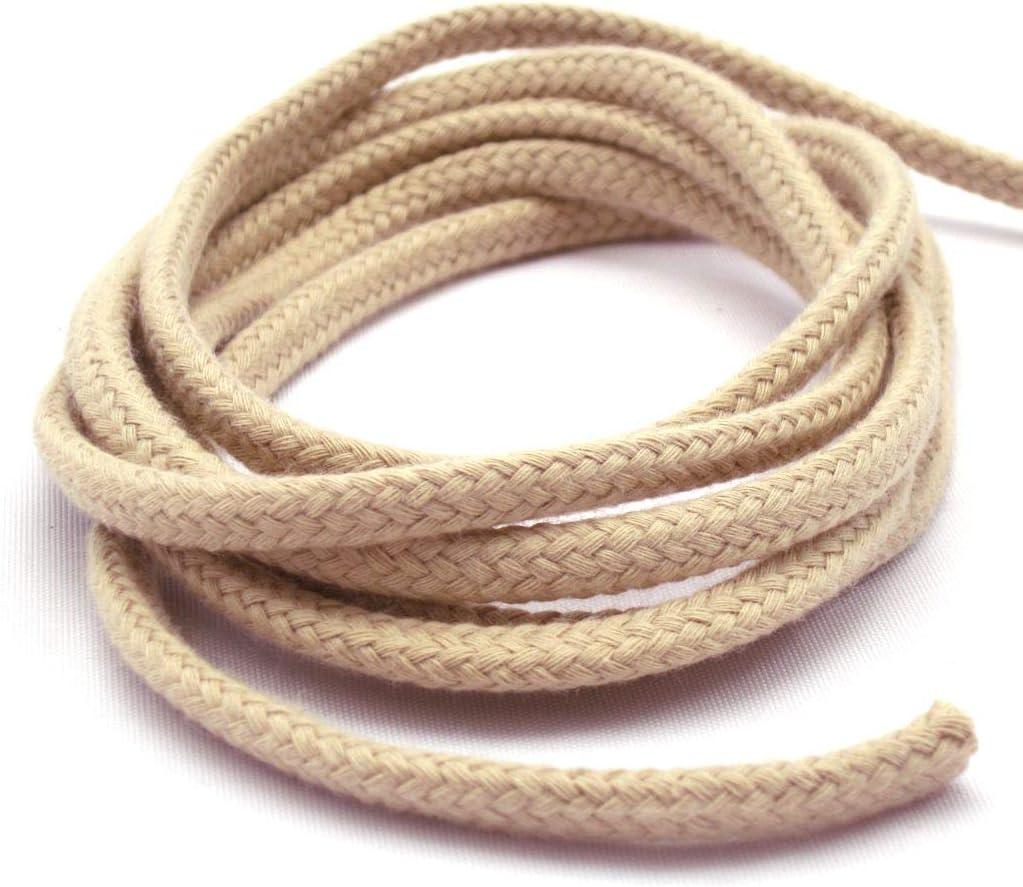 Gerhardt Cordón de algodón Trenzado 6 mm, Cordel, con Capucha ...
