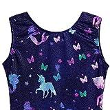 Gymnastics Leotards for Girls 5t Size 5-6 Unicorn