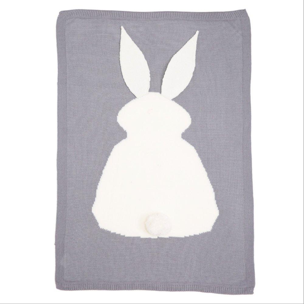 Cheap Sale Trip Blanket Cute Rabbit Knitted Baby Blanket Bed Sofa Sleeping Blankets Bath Towels Play Mat Blanket & Swaddling Mother & Kids