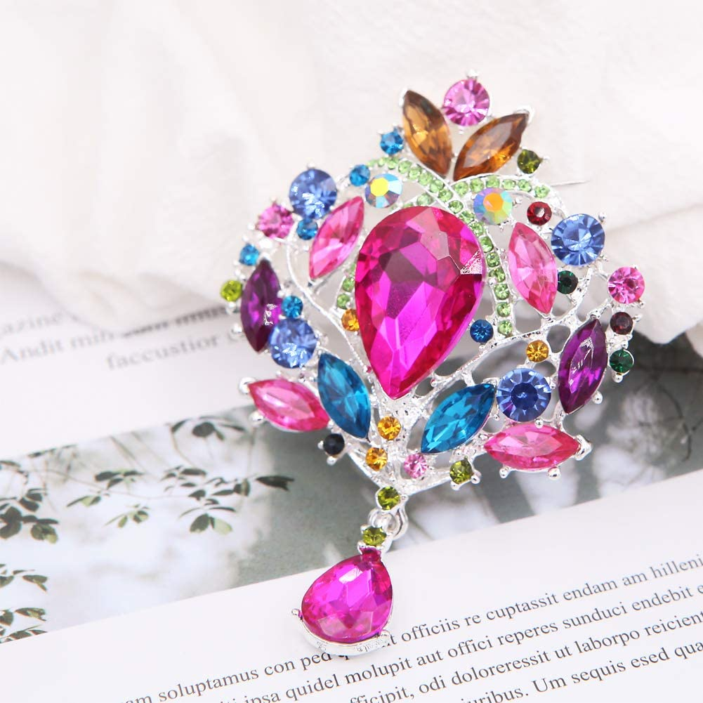 Aooaz Jewelry Brooch for Women Heart Brooches