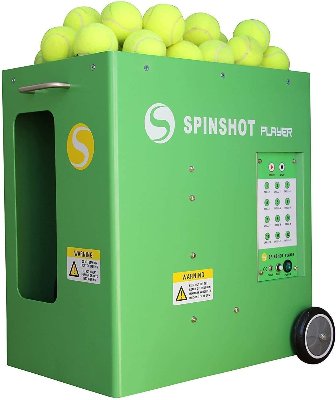 Spinshot-Player Tennis Ball Machine (Best Seller Ball Machine in the World) : Sports & Outdoors