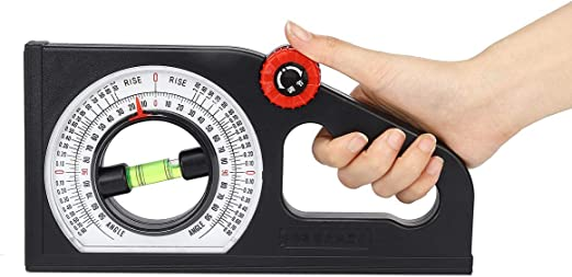 Multifunction Angle Meter Slope Gradient Level Bubble Gauge Measuring Instrument - Hand Tools Other Hand Tools- 1 x Slope Measure Meter - - Amazon.com