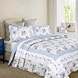 Mayflower Dawn Quilt with standard pillow shams set (Super King)