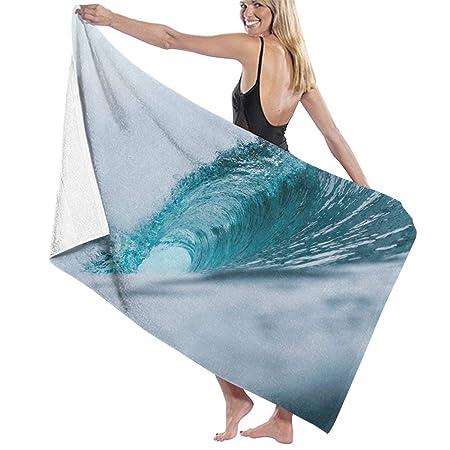xcvgcxcvasda Serviette de Bain, Bath Towel Wrap Ocean Green ...