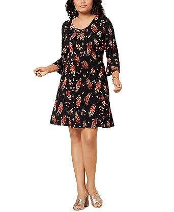 Fox & Royal Trendy Plus Size Floral-Print Dress (Spring ...