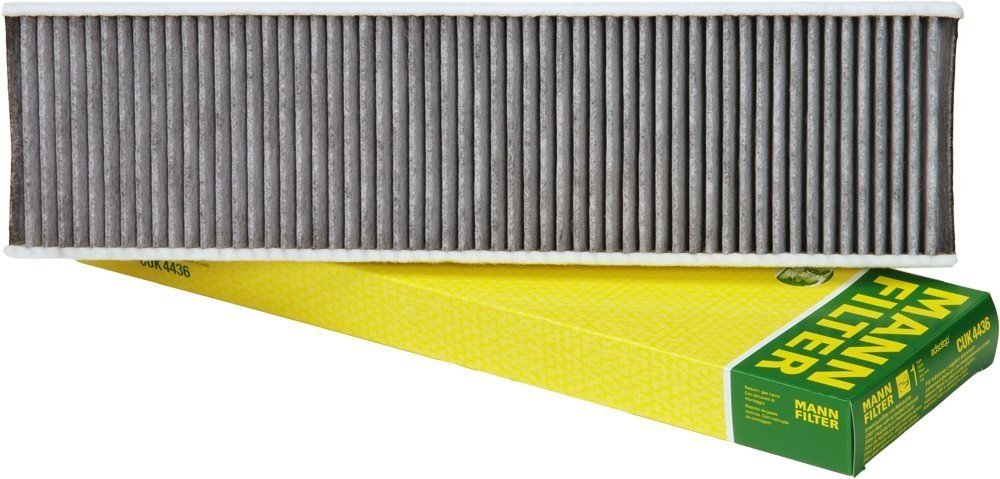 Mann-Filter CUK 4436 Cabin Filter With Activated Charcoal for select Mini models (Pack of 2) by Mann Filter