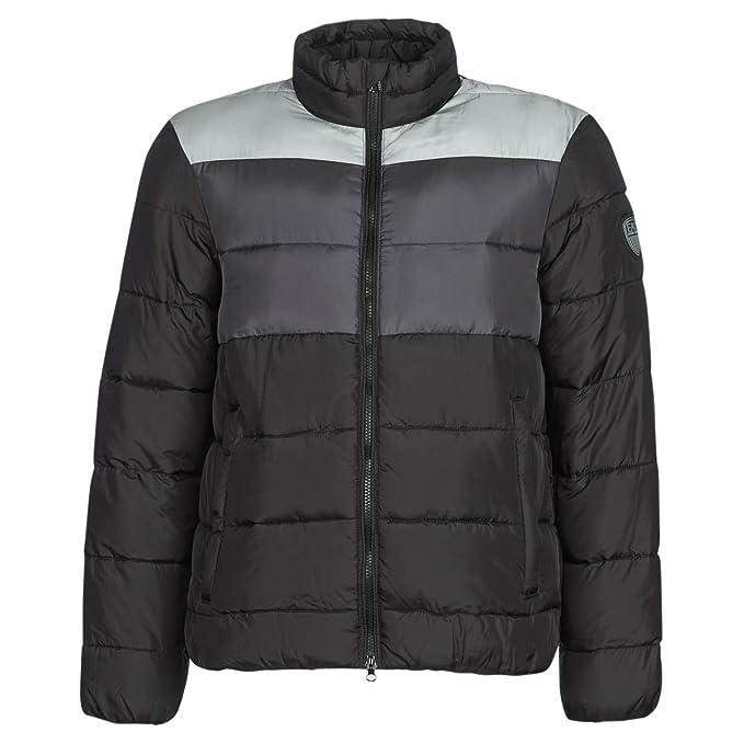 EMPORIO ARMANI EA7 Mountain M Medium Tritonal Jacket Abrigos Hombres Negro/Gris - M - Plumas: Amazon.es: Ropa y accesorios
