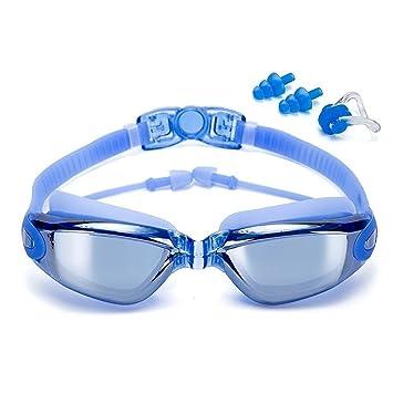 ZOOLY Gafas de natación para adultos Hombres Mujeres Junior Niños 8+ Gafas de natación Lentes