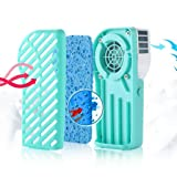 Jytrading Mini USB Rechargeable Smile Face Portable Air Conditioner Personal Hand-held Cooling Fan