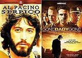 Mystery Movie 2-DVD Set: Gone Baby Gone & Serpico