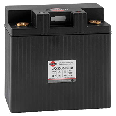 Shorai Lithium Battery LFX36L3-BS12 Lightweight Powerful: Automotive