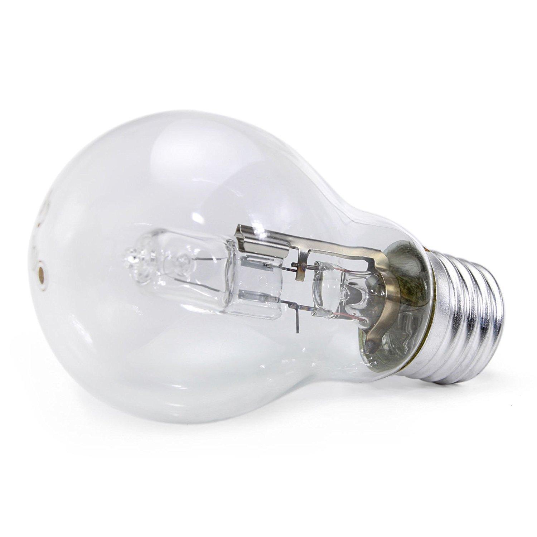 5 x Opus Lampadina Alogena a Risparmio Energetico Super Brillante 70 W Corrispondenti a 100 W Attacco Grande ES E27
