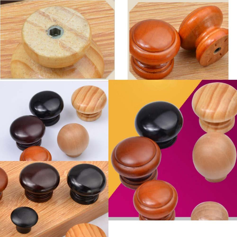 Alien Storehouse 10-Pack Wood Cabinet Dresser Knobs Furniture Drawer Handles - 01 by Alien Storehouse (Image #2)
