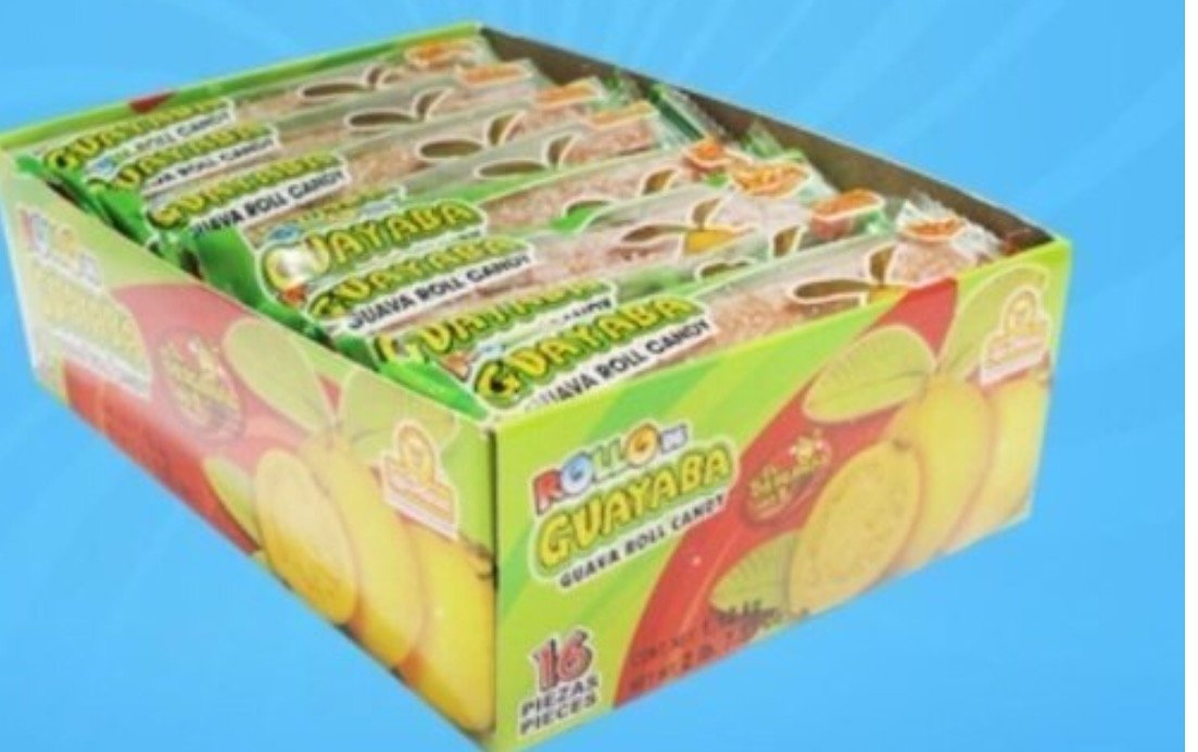 Amazon.com : Guava Candy Roll From Mexico Rollo De Guayaba Membrillo 12 Pieces New Sealed : Fruit Flavored Candies : Grocery & Gourmet Food