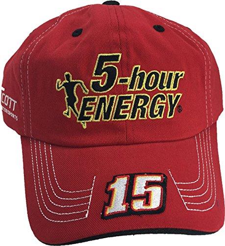 - Clint Bowyer #15 5 Hour Energy Qualifier Series Adult Men's Cap Hat