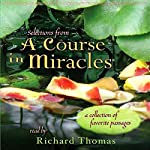Selections from 'A Course in Miracles': A Collection of Favorite Passages | Frances Vaughn,Roger Walsh