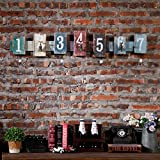 retro Creative link/coat and hat hook Wall-mounting type decoration-A