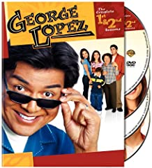 """George Lopez: The Complete First & Second Seasons (DVD) (Multi-Title)Outspoken stand-up comic and radio personality George Lopez (""""Resurrection Blvd."""") headlines this frank and funny foray into the life of a family man with a mission. In ..."""