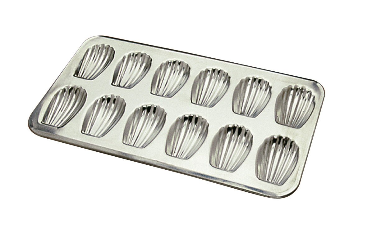 Gobel 12 Count Heavy Tinned Steel Madeleine Sheet Pan, Made in France by Gobel