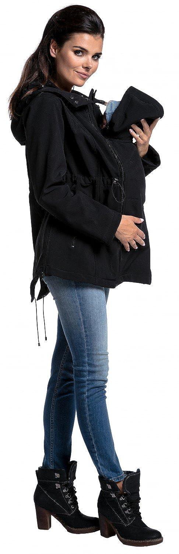 Chaqueta softshell premam/á abrigo panel extra/íble Zeta Ville mujer 447c