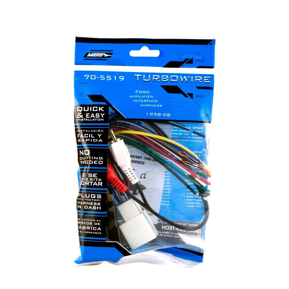 Metra 70 5519 Radio Wiring Harness For Mustang 01 03 Wire Hooks Mach 1 Amp Int Car Electronics