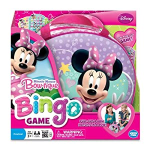 Minnie Mouse Bowtique Bingo Game