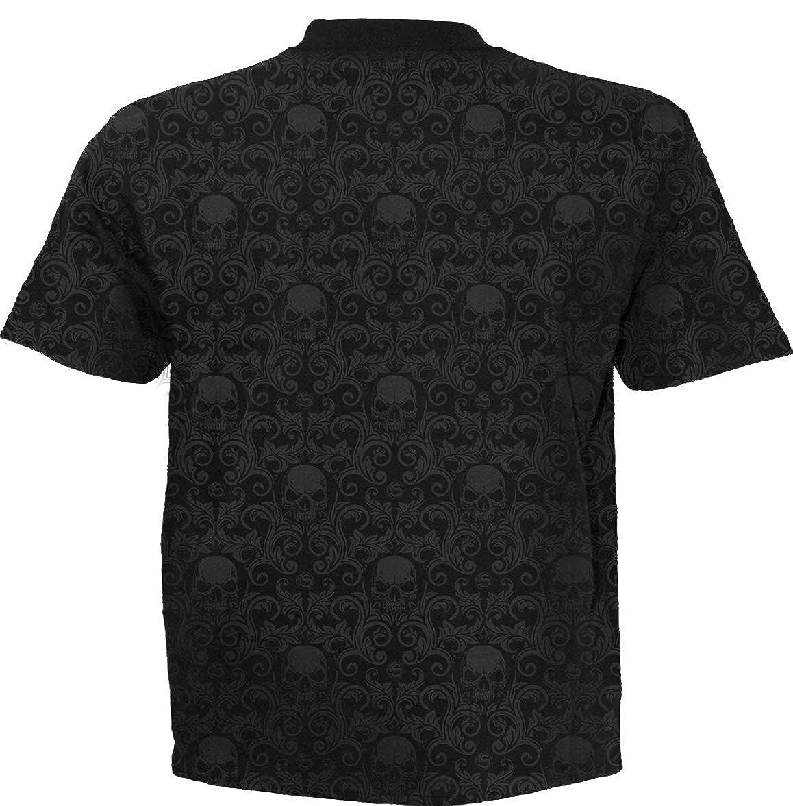 Scroll Impression T-Shirt Spiral Urban Fashion