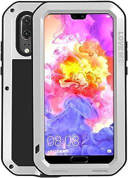 Huawei P20 Pro a prueba de choques Funda, Love Mei metal aluminio ...