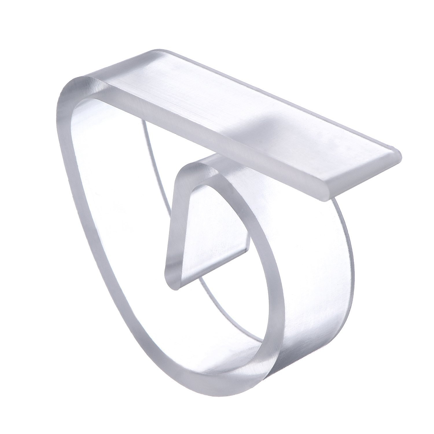 Yansanido 72 Count Hard Plastic Table Cover Clips Clear Plastic Table Cloth Holders Plastic Transparent Tablecover Table Cloth Clip Clamp for Home Party & Picnic (72pcs ,Clear)