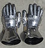 GOTHIC STYLE FUNCTIONAL MEDIEVAL PAIR OF STEEL ARMOR GLOVES