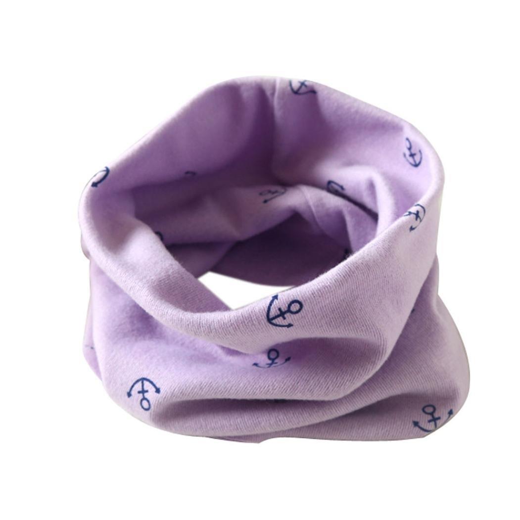2-10 Jahre, Blau B Halstuch Kinder ABsolute Schals Jungen Herbst Winter Baumwollschals Baby Schal Baumwolle O Ring Loopschal