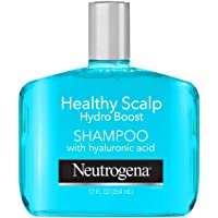 Neutrogena Moisturizing Healthy Scalp Hydro Boost Shampoo for Dry Hair and Scalp, with Hydrating Hyaluronic Acid, pH…