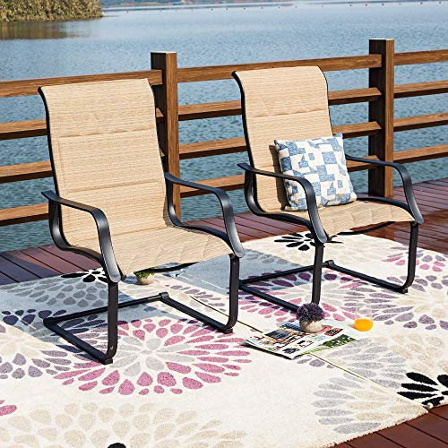 Safavieh Home Collection Hooper Black White Indoor-Outdoor Stacking Side Chair Set of 2 , Medium Oak