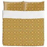 Islamic Stars Duvet Bed Set 3 Piece Set Duvet Cover - 2 Pillow Shams - Luxury Microfiber, Soft, Breathable