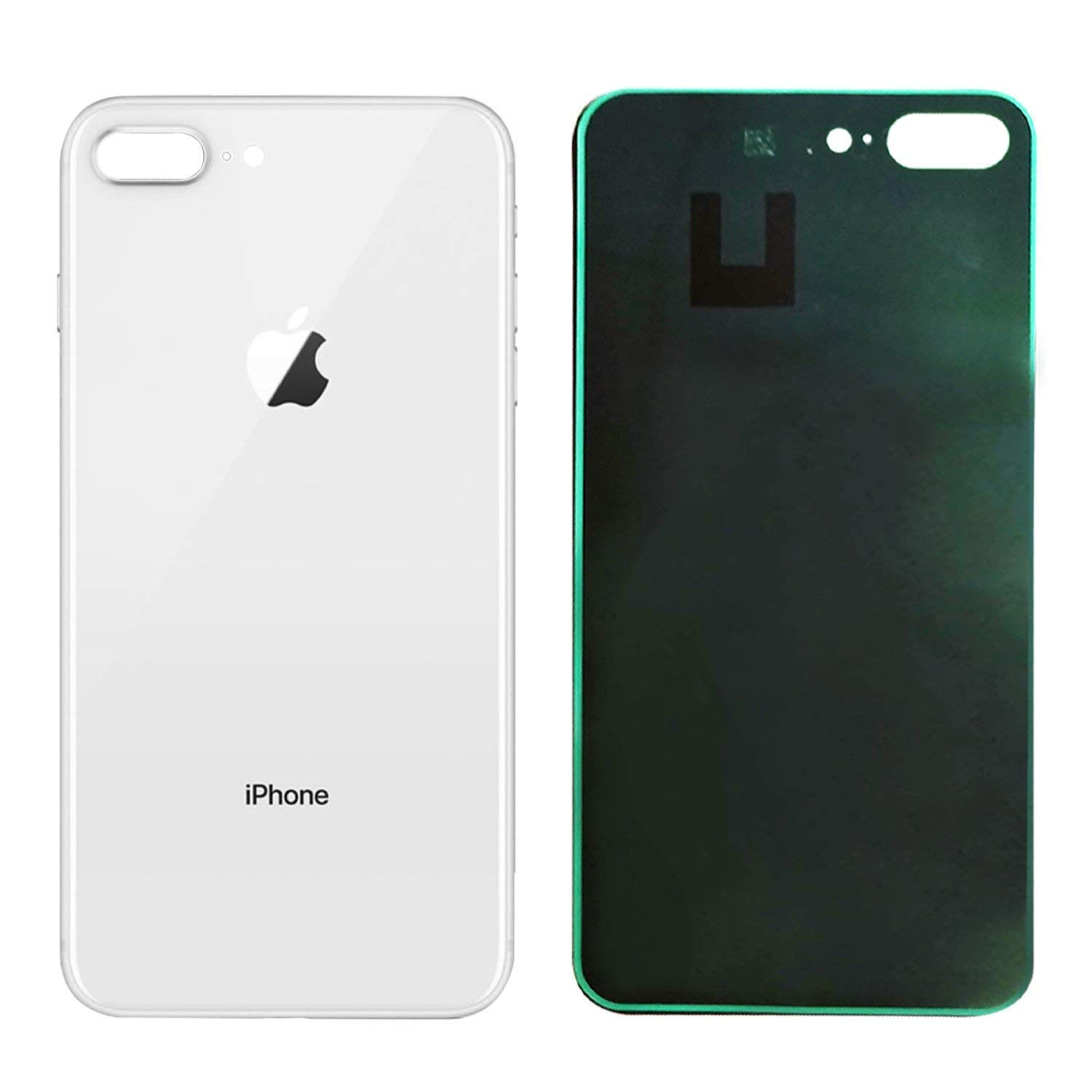 uk availability cd41b 0d2ab Apple iPhone 8 Plus Replacement Back Glass Cover Back Battery Door  w/Pre-Installed Adhesive,Best Version Apple iPhone 8 Plus All Models OEM ...