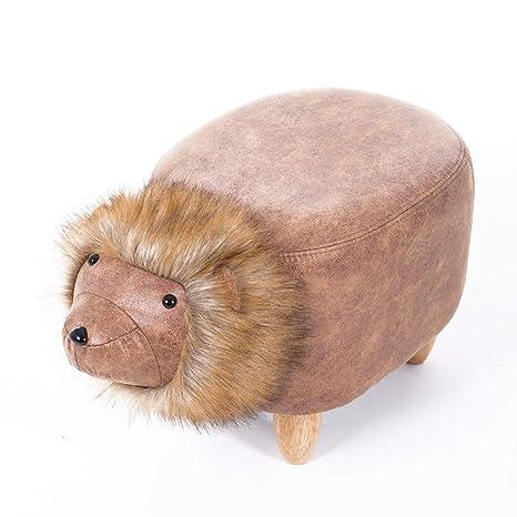Surprising Amazon Com Qtqzdd Animal Footstool Solid Wood Creative Lion Beatyapartments Chair Design Images Beatyapartmentscom
