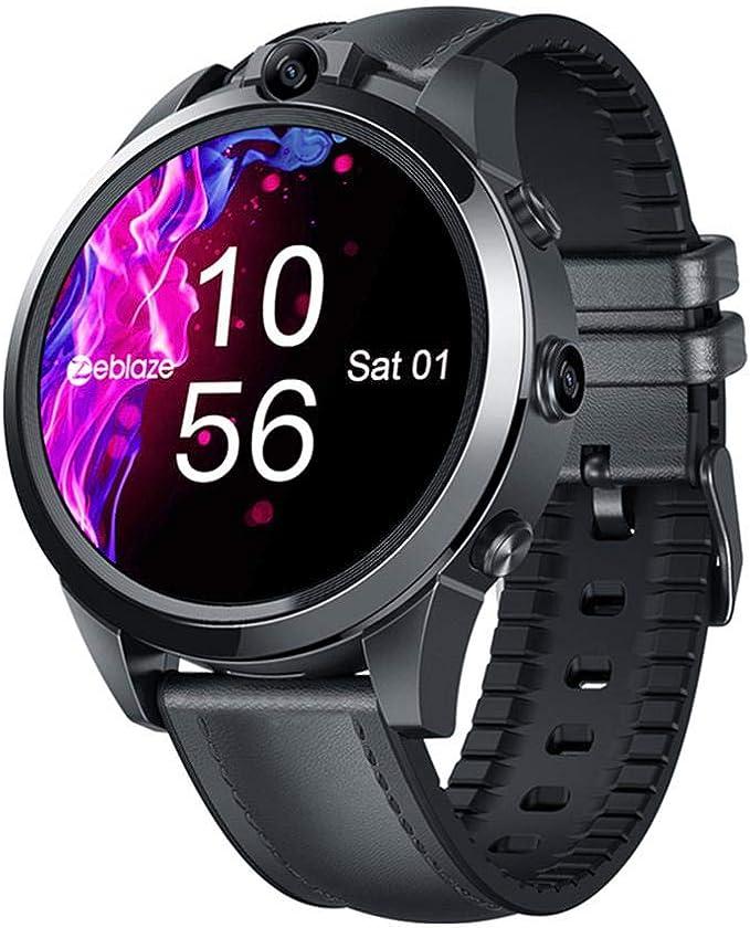 LayOPO Zeblaze Thor 5 Pro Smartwatch, Bisel de cerámica de 1.6 ...