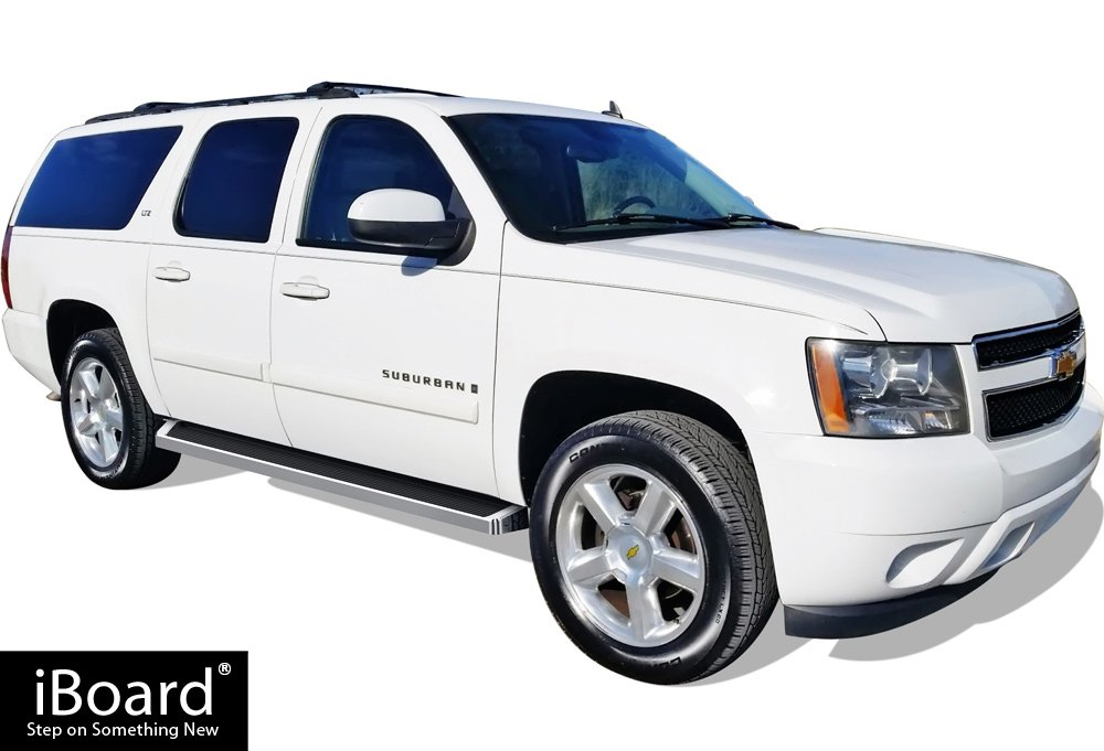 iBoard Running Boards Style Custom Fit 2003-2013 Chevy Avalanche Crew Cab /& 2005-2018 Chevy Suburban//GMC Yukon XL Excl. Z71 /& Hybrid Models Nerf Bars | Side Steps | Side Bars