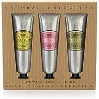 Naturally European Hand Cream Collection Gift Set 3 x 30ml