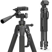 Hama Action 165 3D statyw kamery, wysokość 61-165 cm, 3-drożna głowica kulkowa, gumowe nóżki i kolce, nośność do 4 kg…
