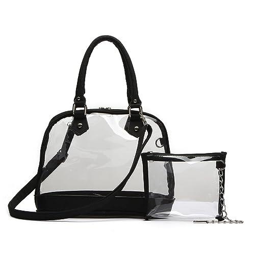 Clear Vinyl Handbags: Amazon.com