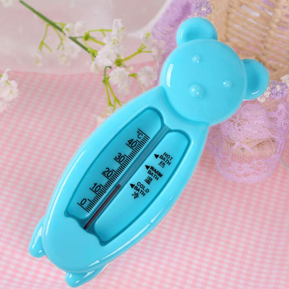NZNNXN Doodle Bear New Children Cartoon Indoor Bath Thermometer Baby Bear Water Thermometer