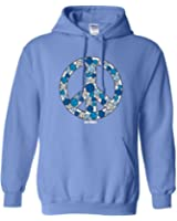 Sports Katz Womens 'Peace Out' VOLLEYBALL Hoodie