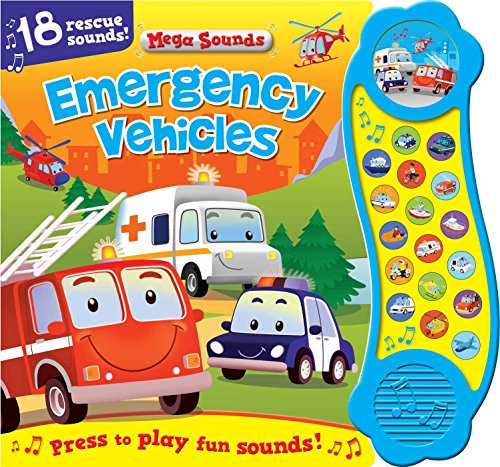 Emergency Vehicles (Sound Book): 18 Rescue Sounds (Mega Sounds)
