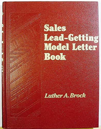 Sales Lead-Getting Model Letter Book