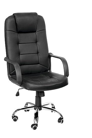 Sedia x ufficio sedia direzionale con schienale for Sedia da ufficio amazon